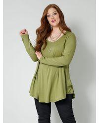 Sara Lindholm Shirt - Groen