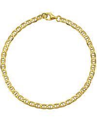 Diemer Gold Ankerarmband - Metallic