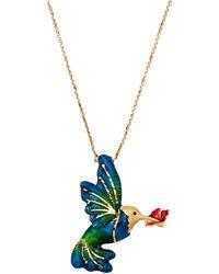Diemer Gold Collier Kolibrie - Meerkleurig