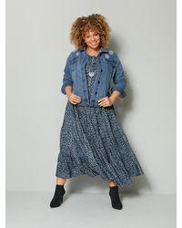 Angel of Style Maxi-jurk - Blauw