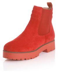 Alba Moda Chelsea Boot - Oranje