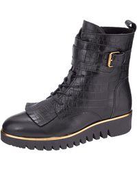 Filipe Shoes Veterlaarsje - Zwart