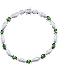 diemer platin Armband - Groen