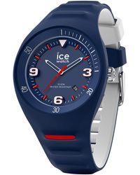 Ice-watch Unisex-Armbanduhr P. Leclercq M Dunkelblau