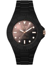 Ice-watch Armbanduhr ICE Generation M Sunset Schwarz Rosé