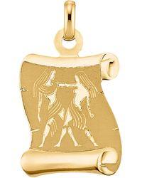 KLiNGEL Hanger Sterrenbeeld Tweelingen - Metallic