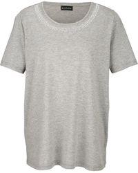 m. collection Shirt - Grau