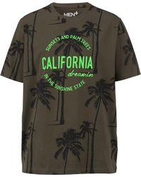 Men Plus T-shirt - Groen