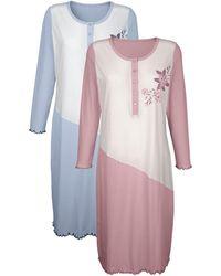 Harmony Nachthemd - Roze