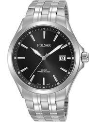 Pulsar Herren-Armbanduhr Quarz - Schwarz