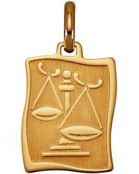 Diemer Gold Hanger Sterrenbeeld Weegschaal - Meerkleurig