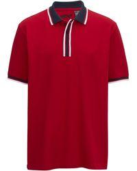 Men Plus Poloshirt - Zwart