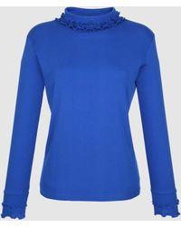 KLiNGEL Colshirt - Blauw
