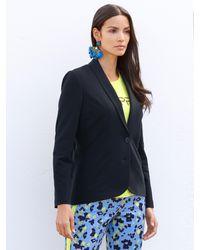 Amy Vermont Jersey Blazer - Blauw