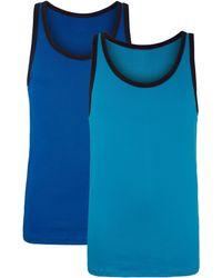 G Gregory Hemden Per 2 - Blauw