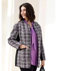 m. collection Blazer - Paars