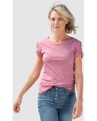 Dress In Shirt - Roze