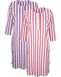 Harmony Nachthemden Per 2 Stuks - Rood