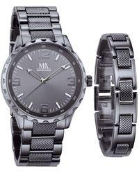 Meister Anker 2-delige Horlogeset - Zwart