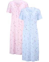 Harmony Nachthemd - Blauw