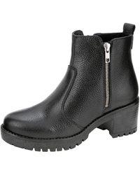 Filipe Shoes Enkellaarsje - Zwart
