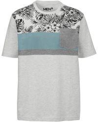 Men Plus T-shirt - Meerkleurig