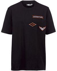 Men Plus T-shirt - Zwart