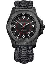 Victorinox Herrenuhr I.N.O.X Carbon Swiss Military - Schwarz