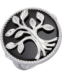 KLiNGEL Ring Levensboom - Zwart