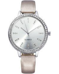 Laura Kent Horloge - Metallic