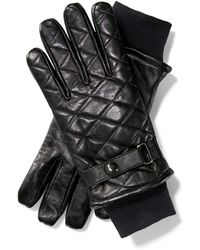 Babista Leren Handschoenen Zwart