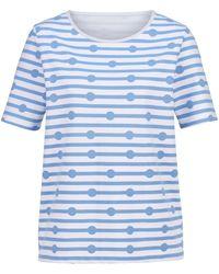 Dress In Sweatshirt - Blauw