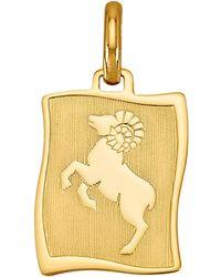 Diemer Gold Hanger Sterrenbeeld Ram - Meerkleurig