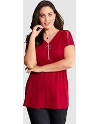 MIAMODA Shirt - Rood