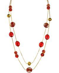 KLiNGEL Halskette - Rot