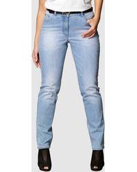 Angel of Style Jeans Carla Slim Fit - Blauw