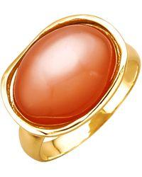Diemer Farbstein Damesring - Oranje