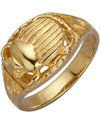 Ursula Christ Ring Scarabee - Metallic