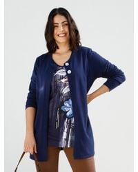 m. collection Vest - Blauw