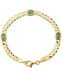 KLiNGEL Armband Met Smaragden - Groen
