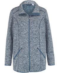 m. collection Fleece Vest - Blauw