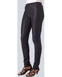 Alba Moda Leren legging - Zwart