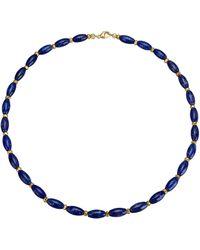 Diemer Farbstein Collier - Blauw