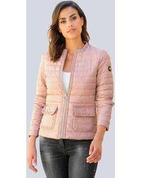 Alba Moda Gewatteerde Jas - Roze