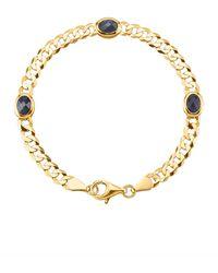 KLiNGEL Armband mit Saphiren - Blau