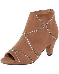 Liva Loop Ankle Boot - Zwart