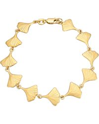 Diemer Gold Armband Ginkgo - Metallic
