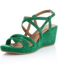 Alba Moda Sandaaltje - Groen