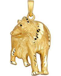 Diemer Gold Hanger Wolf - Geel