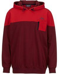 Men Plus Sweatshirt - Rood